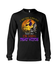 100 Percent With That Witch Halloween Long Sleeve Tee thumbnail