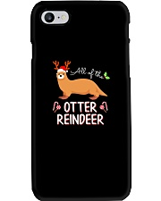All Of The Otter Reindeer Christmas TShirt Phone Case thumbnail