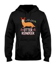 All Of The Otter Reindeer Christmas TShirt Hooded Sweatshirt thumbnail