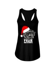Brussels Griffon Cute Feliz Navidog Christmas Ladies Flowy Tank thumbnail