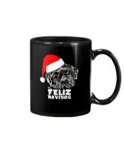 Brussels Griffon Cute Feliz Navidog Christmas Mug thumbnail