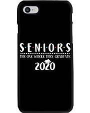 Seniors The One When They Graduate 2020 Phone Case thumbnail