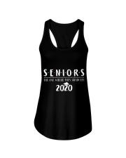 Seniors The One When They Graduate 2020 Ladies Flowy Tank thumbnail