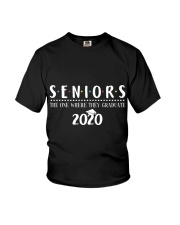 Seniors The One When They Graduate 2020 Youth T-Shirt thumbnail