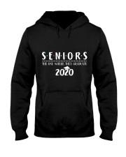 Seniors The One When They Graduate 2020 Hooded Sweatshirt thumbnail