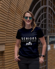Seniors The One When They Graduate 2020 Ladies T-Shirt lifestyle-women-crewneck-front-2
