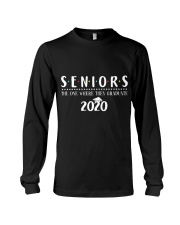 Seniors The One When They Graduate 2020 Long Sleeve Tee thumbnail