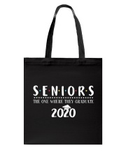 Seniors The One When They Graduate 2020 Tote Bag thumbnail