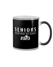 Seniors The One When They Graduate 2020 Color Changing Mug thumbnail