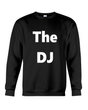DJ TShirt Disc Jockey Identification Clubbing  Crewneck Sweatshirt thumbnail
