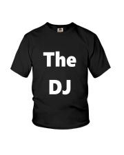 DJ TShirt Disc Jockey Identification Clubbing  Youth T-Shirt thumbnail