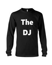 DJ TShirt Disc Jockey Identification Clubbing  Long Sleeve Tee thumbnail