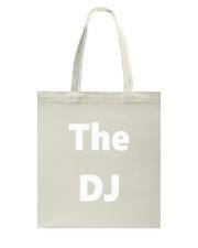 DJ TShirt Disc Jockey Identification Clubbing  Tote Bag thumbnail