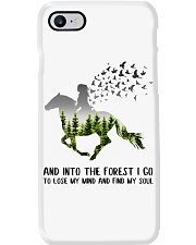 And Into The Forest I Go To Lose My Mind Horse Phone Case thumbnail