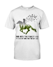 And Into The Forest I Go To Lose My Mind Horse Classic T-Shirt thumbnail