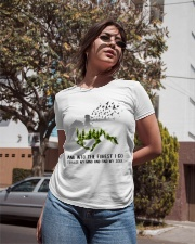 And Into The Forest I Go To Lose My Mind Horse Ladies T-Shirt apparel-ladies-t-shirt-lifestyle-02