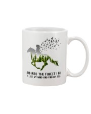 And Into The Forest I Go To Lose My Mind Horse Mug thumbnail