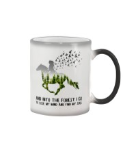 And Into The Forest I Go To Lose My Mind Horse Color Changing Mug thumbnail
