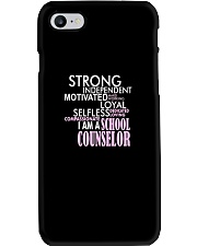 Motivated Selfless School Counselor T Shirt Phone Case thumbnail