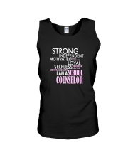 Motivated Selfless School Counselor T Shirt Unisex Tank tile