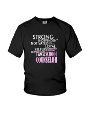 Motivated Selfless School Counselor T Shirt Youth T-Shirt thumbnail