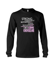 Motivated Selfless School Counselor T Shirt Long Sleeve Tee thumbnail