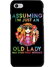 Assuming Im Just An Old Lady Was First Mistake Phone Case thumbnail