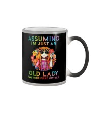 Assuming Im Just An Old Lady Was First Mistake Color Changing Mug thumbnail