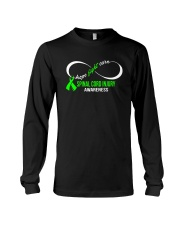 Hope Fight Cure SPINAL CORD INJURY Awareness Long Sleeve Tee thumbnail