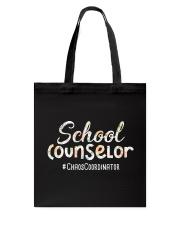 Cute School Counselor Funny Chaos Coordinator  Tote Bag thumbnail