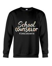 Cute School Counselor Funny Chaos Coordinator  Crewneck Sweatshirt thumbnail