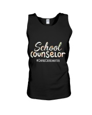 Cute School Counselor Funny Chaos Coordinator  Unisex Tank thumbnail