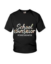 Cute School Counselor Funny Chaos Coordinator  Youth T-Shirt thumbnail