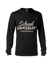 Cute School Counselor Funny Chaos Coordinator  Long Sleeve Tee thumbnail
