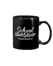 Cute School Counselor Funny Chaos Coordinator  Mug thumbnail