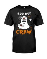 Boo Boo Crew Nurse Ghost Funny Halloween Classic T-Shirt thumbnail