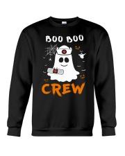 Boo Boo Crew Nurse Ghost Funny Halloween Crewneck Sweatshirt thumbnail