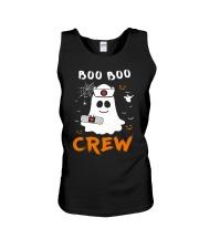 Boo Boo Crew Nurse Ghost Funny Halloween Unisex Tank thumbnail