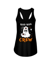 Boo Boo Crew Nurse Ghost Funny Halloween Ladies Flowy Tank thumbnail