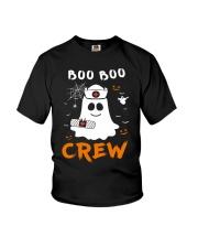Boo Boo Crew Nurse Ghost Funny Halloween Youth T-Shirt thumbnail