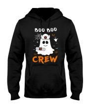 Boo Boo Crew Nurse Ghost Funny Halloween Hooded Sweatshirt thumbnail