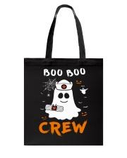 Boo Boo Crew Nurse Ghost Funny Halloween Tote Bag thumbnail