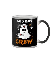 Boo Boo Crew Nurse Ghost Funny Halloween Color Changing Mug thumbnail