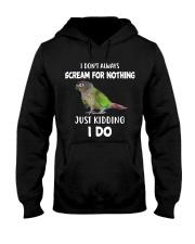 Green Cheek Conure T Shirt  I Scream Conure Shirt Hooded Sweatshirt thumbnail