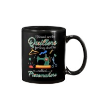 Blessed Are The Quilters Shall Called Piecemakers Mug thumbnail
