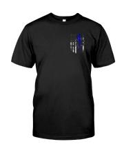 EMT First Responder Flag Tshirt Classic T-Shirt front