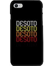 DeSoto TX  Vintage Style Texas Tshirt Phone Case thumbnail