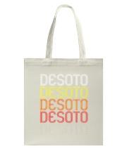 DeSoto TX  Vintage Style Texas Tshirt Tote Bag thumbnail