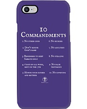 10 Commandments Bible Verse Scripture TShirt Phone Case tile