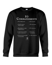10 Commandments Bible Verse Scripture TShirt Crewneck Sweatshirt thumbnail